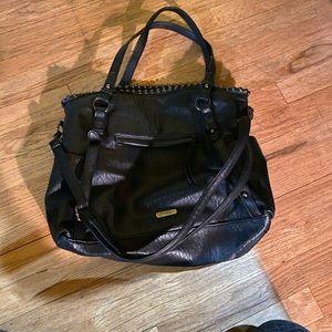 Jessica Simpson black slouchy bag
